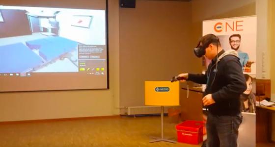 Virtuaalitodellisuudessa voi tehdä mitä tahansa, terveydenhuollossakin