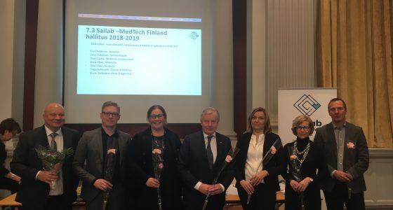 Sailab -MedTech Finland ry:n uudet hallituksen jäsenet