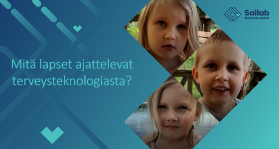 Miltä tulevaisuuden terveysteknologia näyttää? – lapset kertovat